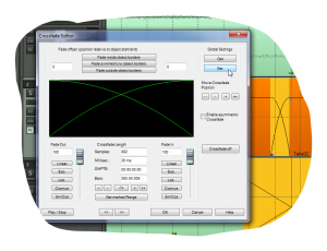 Crossfade Editor v Samplitude