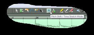 Pitch Shift Time Stretch Mode v Samplitude