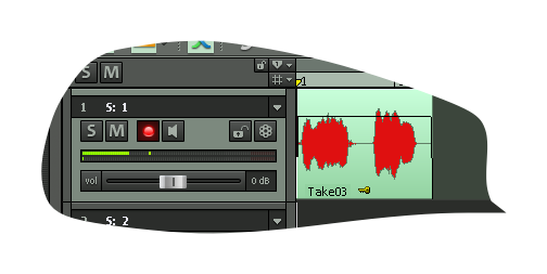 Pravilno zapisanniy signal Samplitude